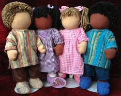 Friends 2 Hamzah Rag Dolls